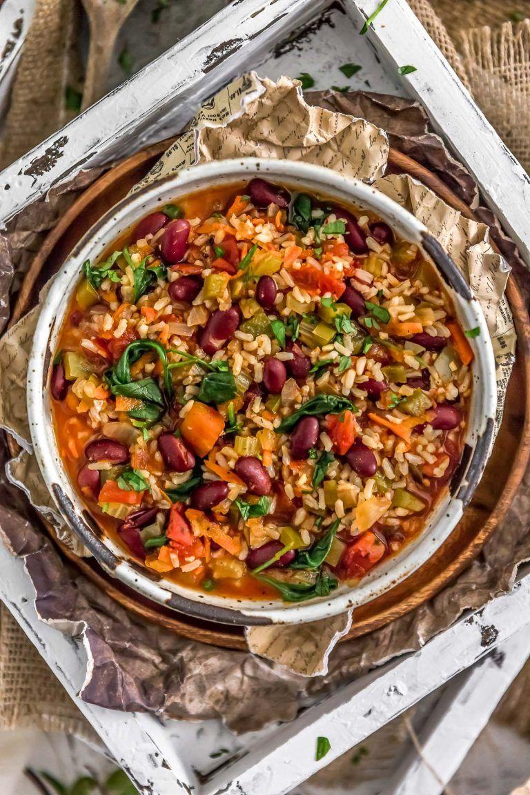 Healthy Vegan Jambalaya
