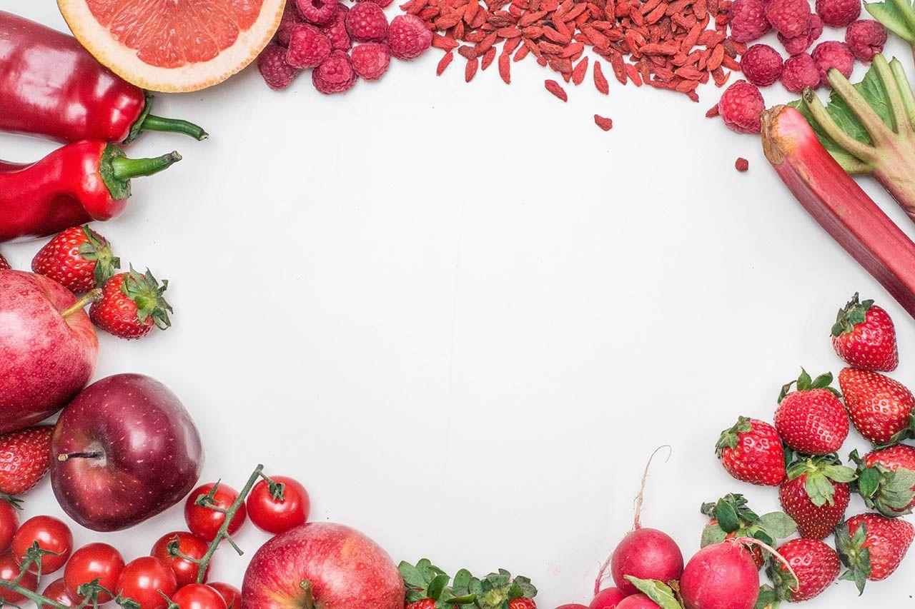 خلفيات جرافيك بأشكال متنوعة Fruit Vegetables Free Food