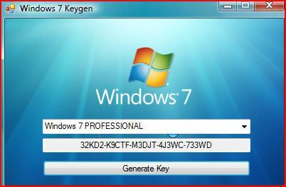 Windows 7 Product Key Generator Activator Download Handwriting Recognition Generation Linux Mint