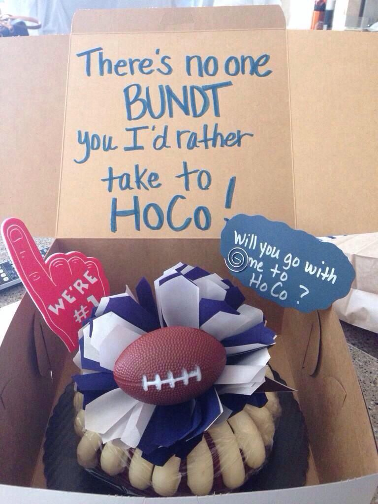 Homecoming proposals! More