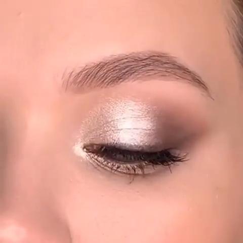SOFT GLAM EYE MAKEUP TUTORIAL #softglam #eyemakeup #makeupglam  #eyebrowstutorial