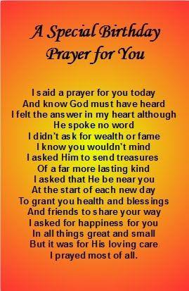 sister s birthday prayer cards free birthday cards
