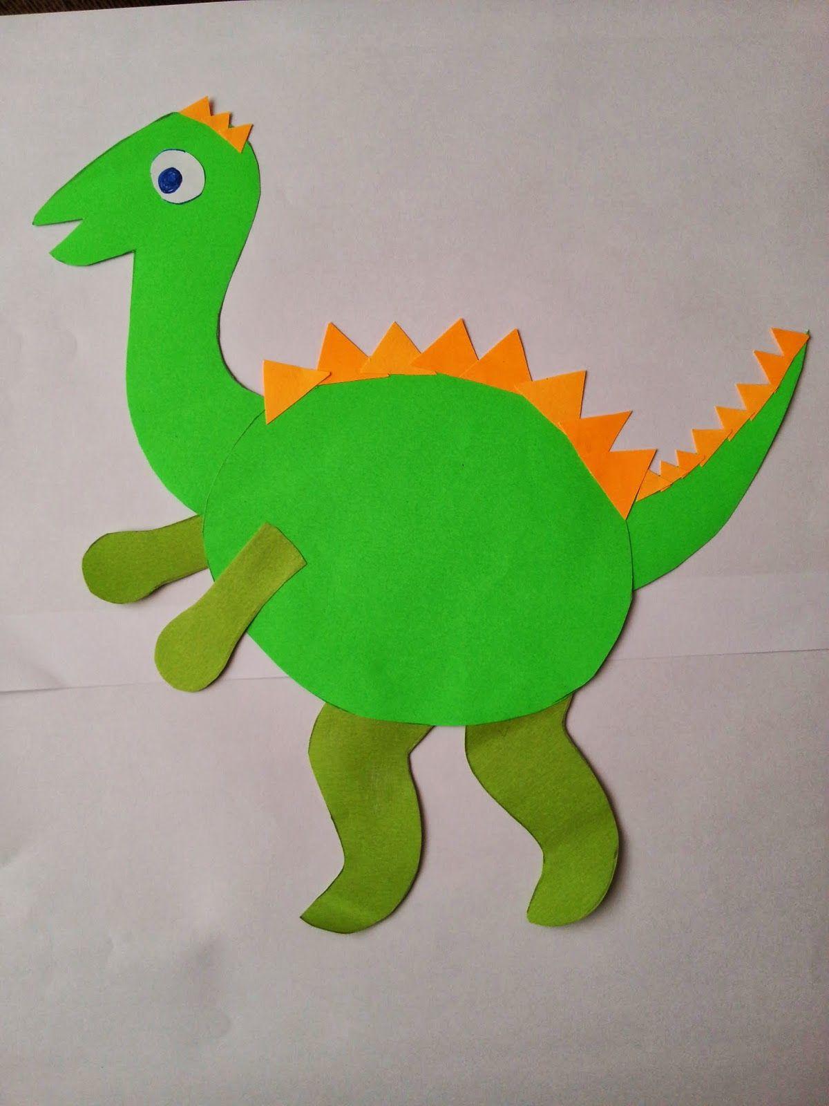 Dinosaur Craft Idea For Kids
