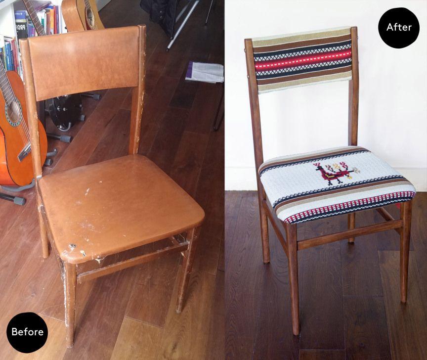 Un Silla Boho Makeover Chair