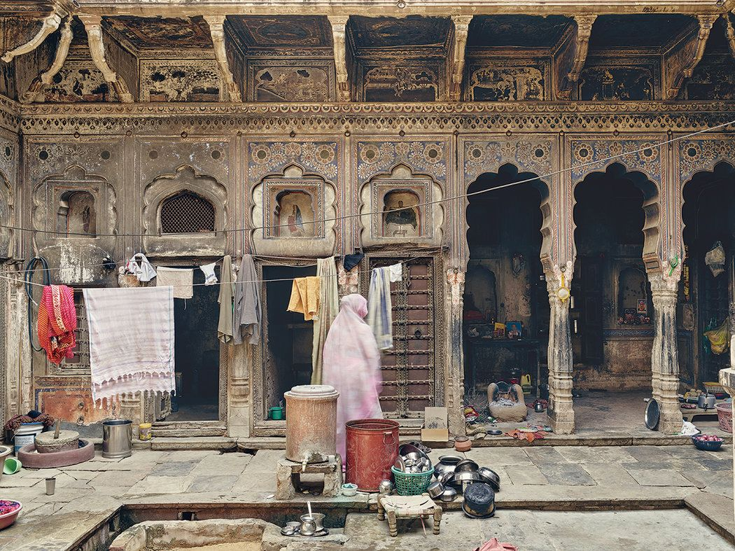 The Lost Frescoes of Rajasthan India architecture