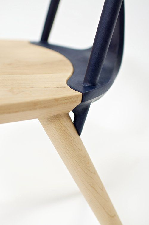 Wood Corliss Chair Contemporary Design Corliss Chair Desgin By Studio DUNN.  Industrial Design Furniture ...