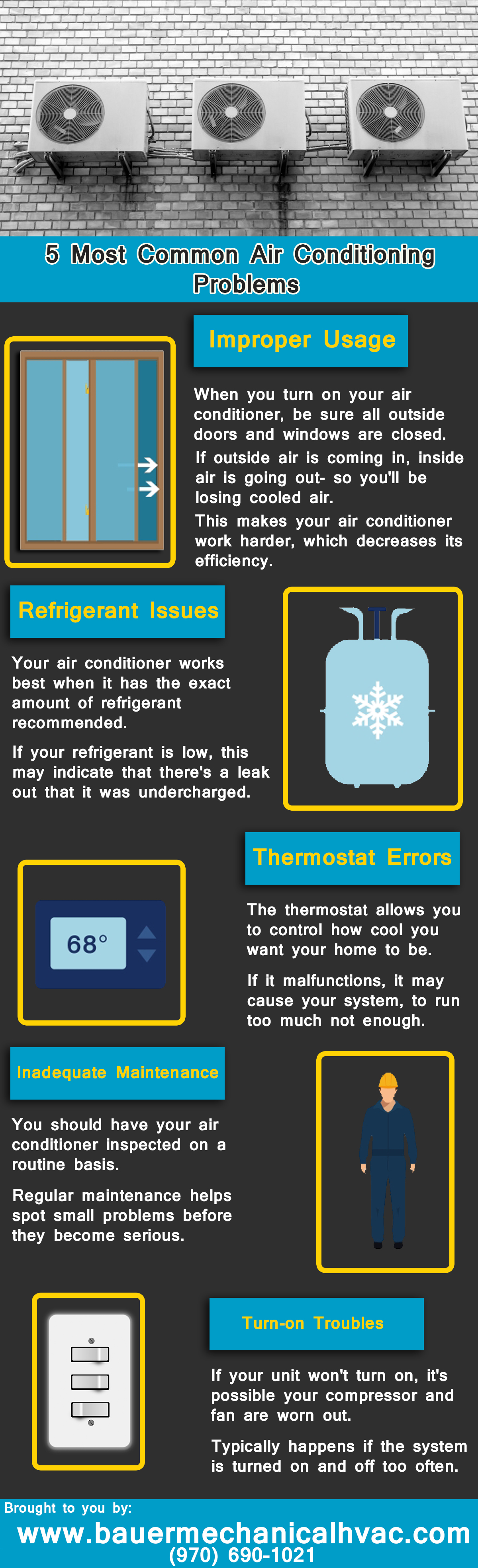 5 Most Common Air Conditioning Problems (With images