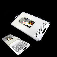 Nova Smart 2 Em 1 picar Board Com Bandeja De Lavar ferramentas de cozinha Placa de corte