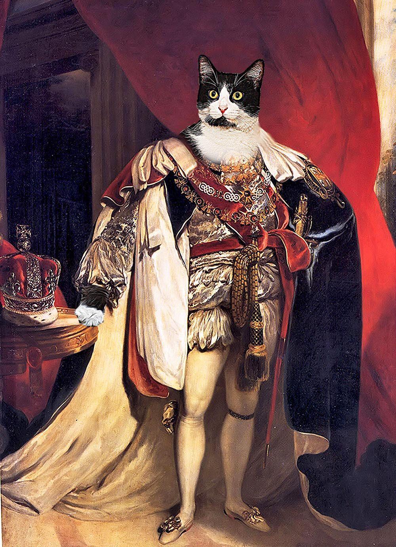 King V Custom Renaissance Pet Dog and Cat