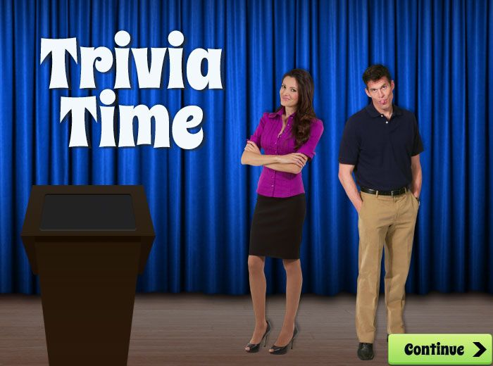 Trivia Time Game Template  ELearning Designer  Work