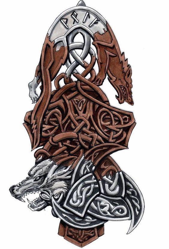Wolf of Odin | Geri and Freki - Wolf of Odin | Viking
