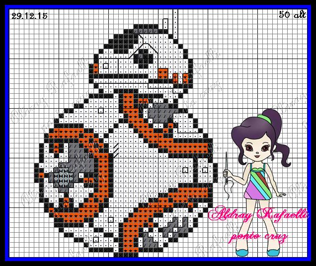 BB-8 - Star Wars:The Force Awakens pattern by Aldray Ferreira ...