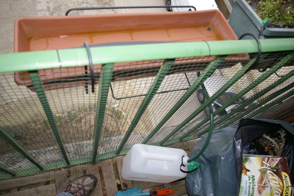 récupérateur eau pluie balcon diy DIY for the House - outdoor - recuperation eau de pluie maison