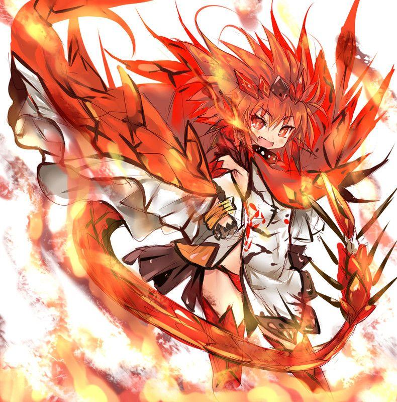 Monster Hunter Rathalos In Human Form Monster Hunter Anime