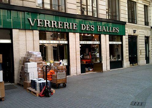 verrerie des halles paris shopping