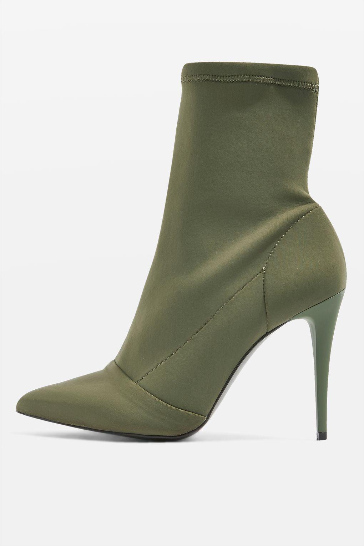 balenciaga sock shoes green
