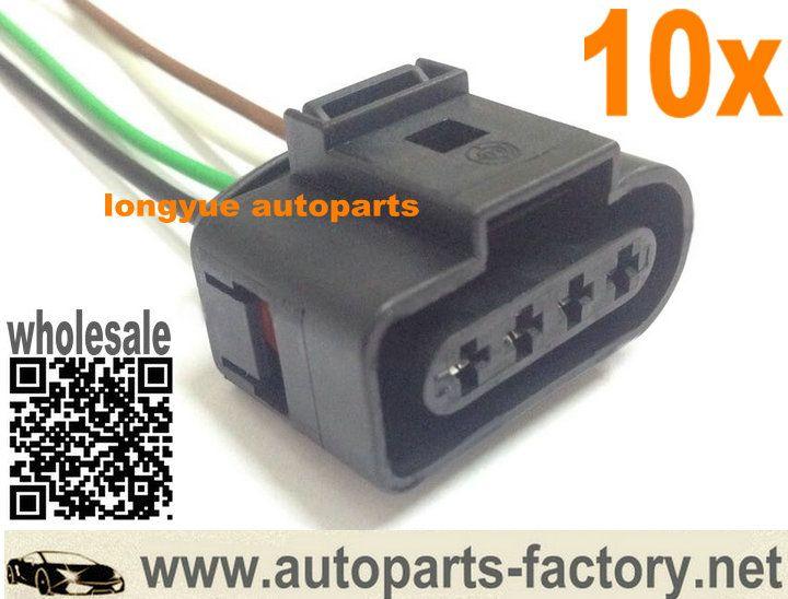 Longyue 10pcs Ignition Coil Connector Repair Kit Audi A4 A6 Vw Harness Plug Wiring 1j0 973 724 1j0973724 6 Ignition Coil Repair Audi A4