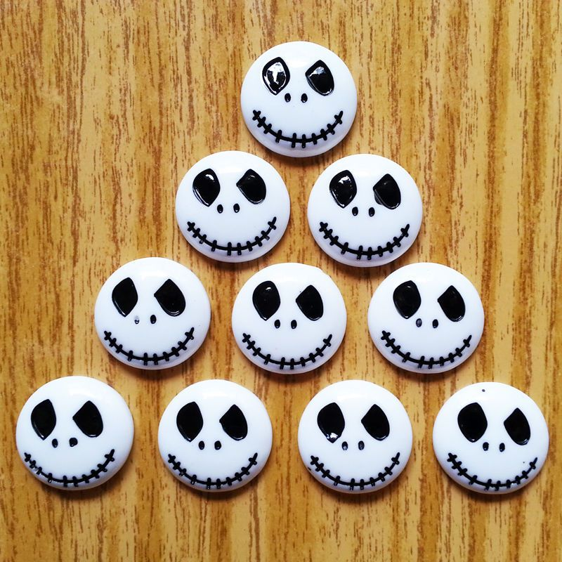 10pcs Jack Skellington The Nightmare Before Xmas Flatbacks Hair Bow Crafts