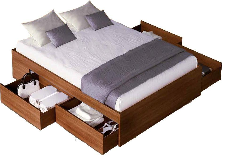 Cama con cajones comprar cama con cajones de la selecci n for Recamaras matrimoniales df