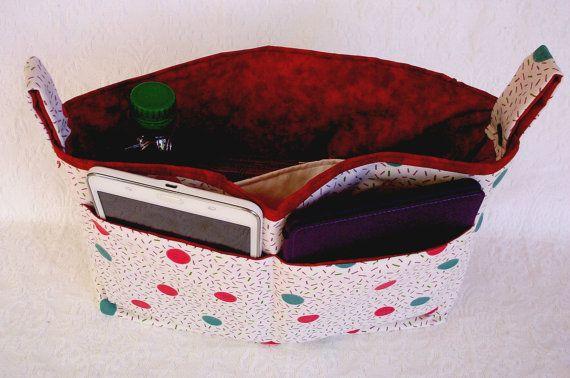 Extra Large Handbag Organizer, Fabric Insert Organizer, Purse Insert Liner,  Large Handbag Insert, Diaper Bag Organizer, Handbag Essentials