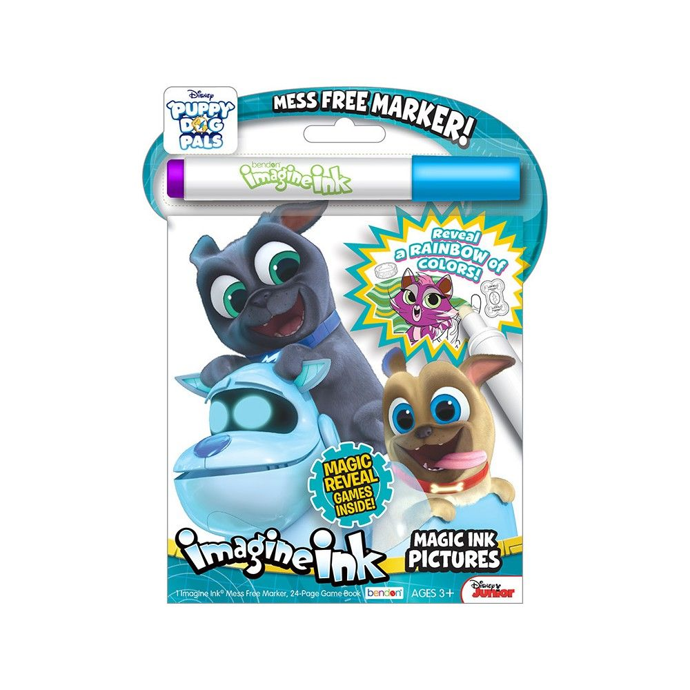 Puppy Dog Pals Imagine Ink In 2021 Craft Activities For Kids Coloring Books Dogs And Puppies