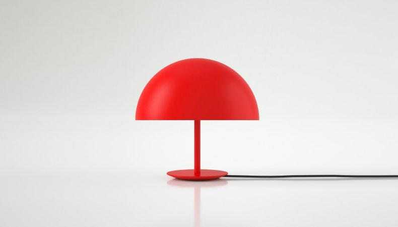 DOME LAMP RED by MATER DESIGN available at Haute Living