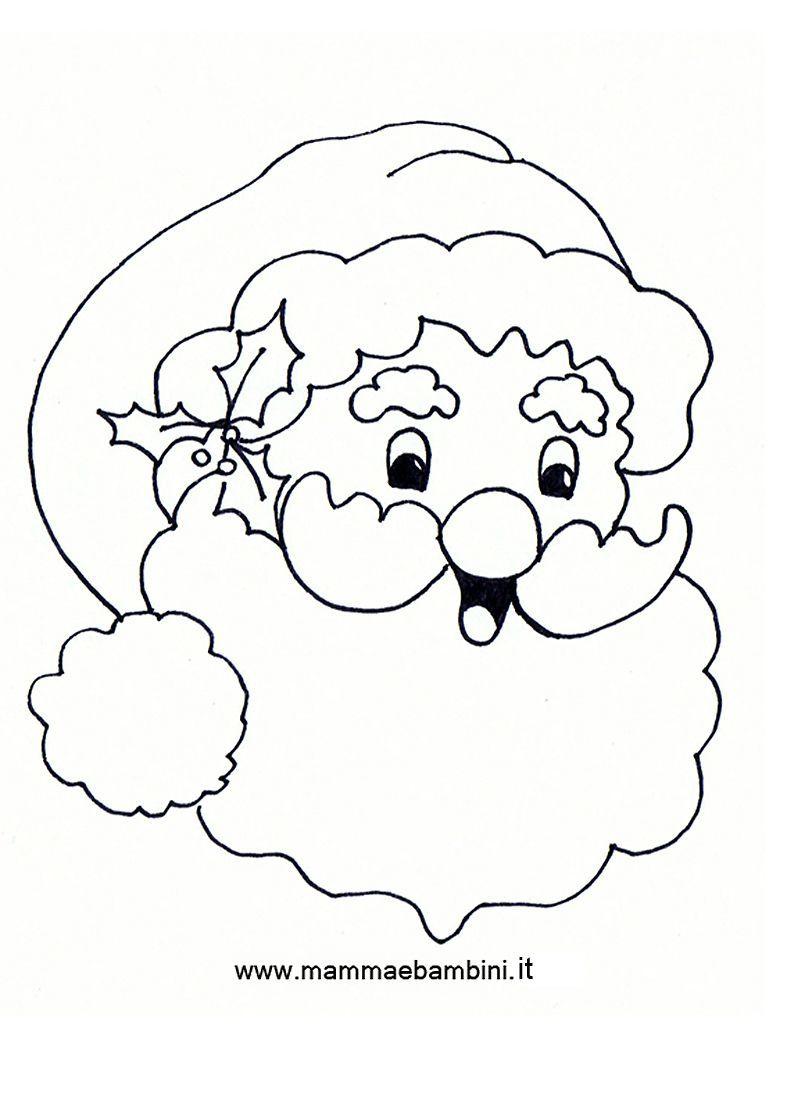 Natale Disegni Da Colorare Mamma E Bambini Immagini Di Babbo