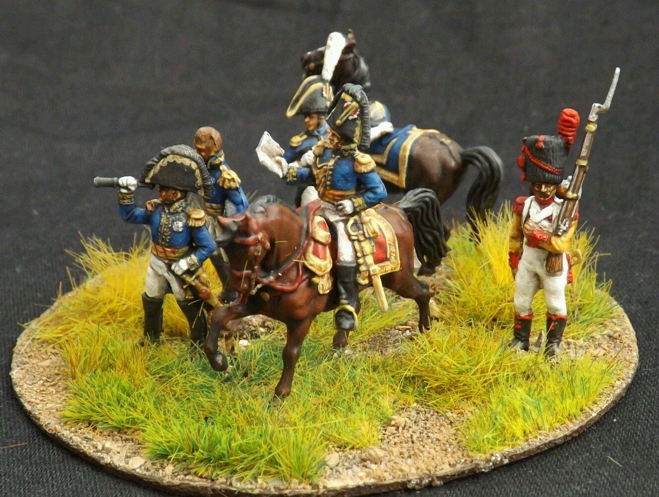 20mm 1 72 Zvesda Painted Napoleonic French General Staff Wargame Waterloo 1812 | eBay