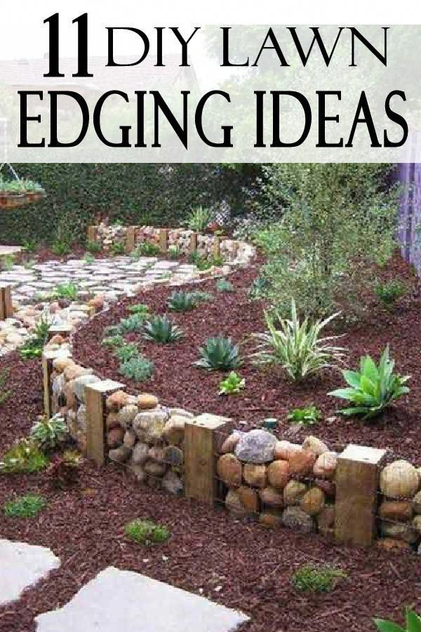 UPGRADE your yard with these beautiful lawn edging ideas ...