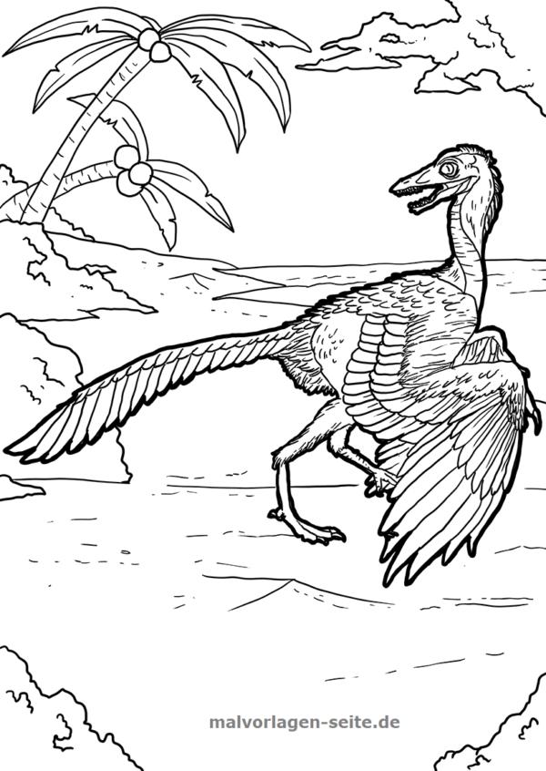 malvorlage archaeopteryx | malvorlagen, ausmalbilder