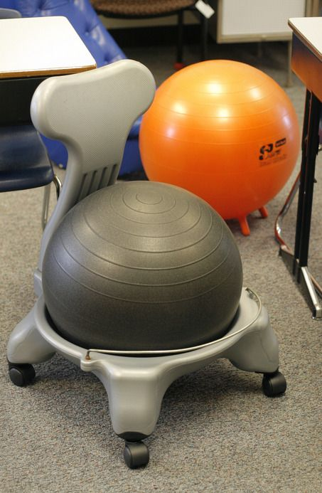 Ball Chairs For Students Doll Table And 18 Inch Dolls Teachers Use Movement To Keep Fidgeting Alert In Classroom Using Fidget Adhd Ballchair Great Yes They Do Work