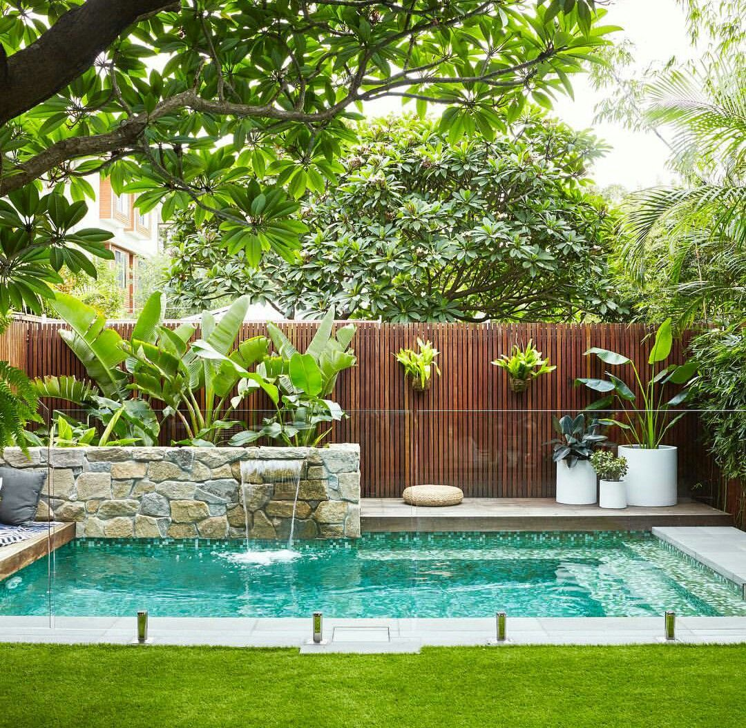 Pin By Nikki Thompson On Australia S House Small Backyard Pools Small Pool Design Backyard