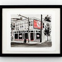 Richmond, Virginia Art featuring prints of Richmond's iconic buildings and skyline by Peyton Millikan.