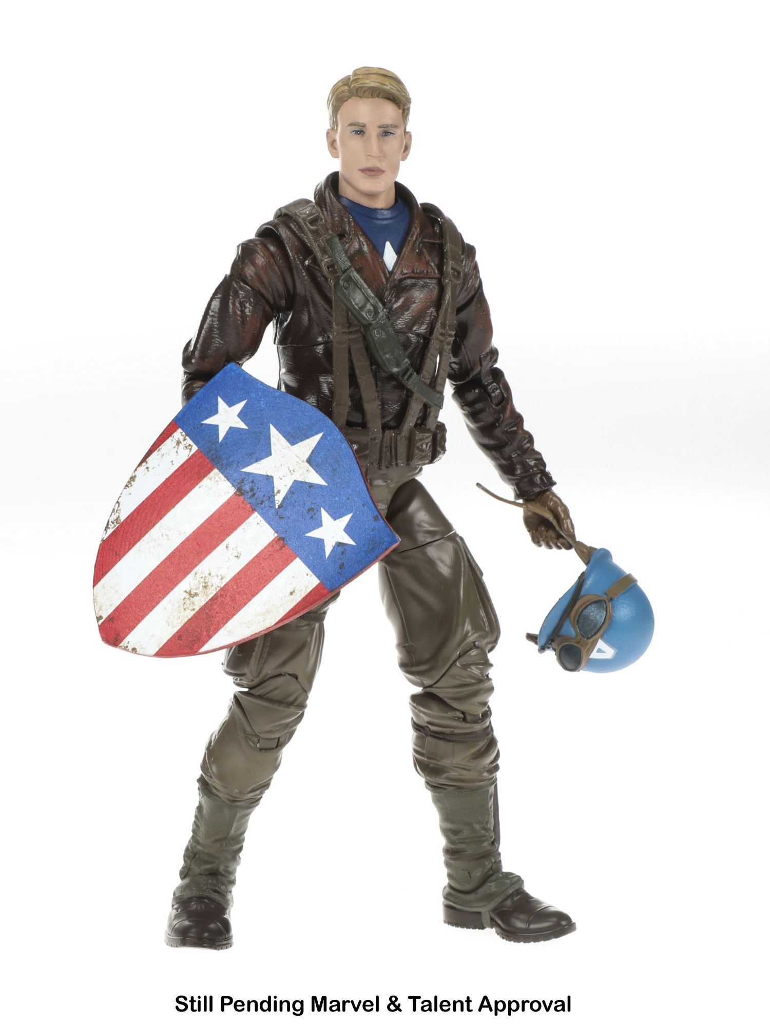 "Marvel Legends 6/"" Captain America /& Peggy Carter Action Figure 2-Pack"