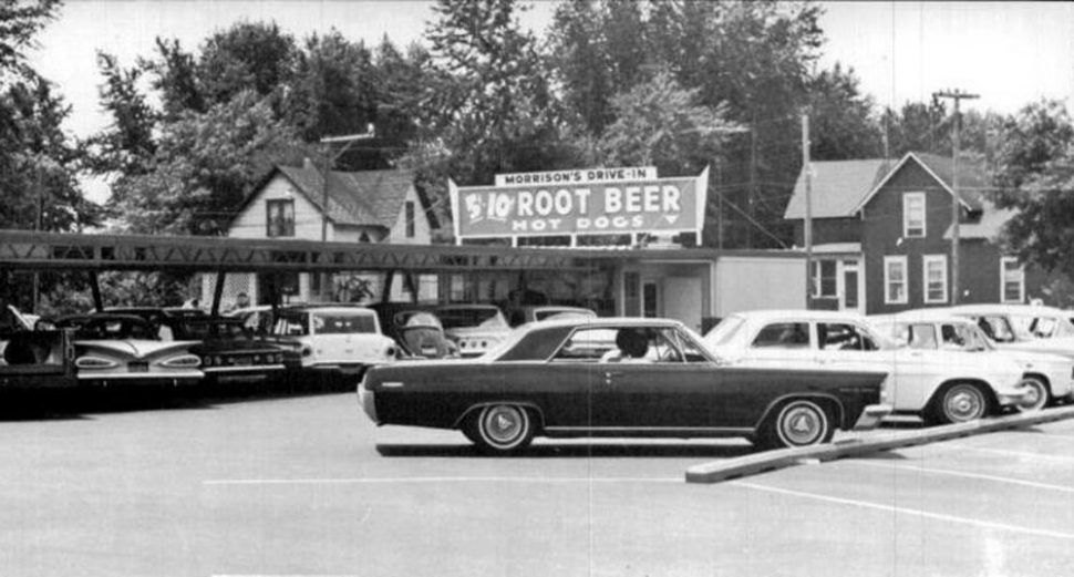 Anywhere, USA, 1963 Michigan city, Lake michigan, Morrisons