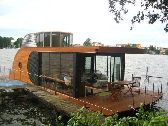 houseboat berlin more - Small Houseboat