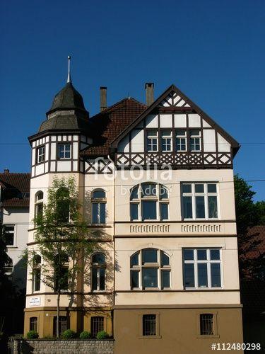 Prachtvolle alte Villa mit restauriertem Fachwerk in der