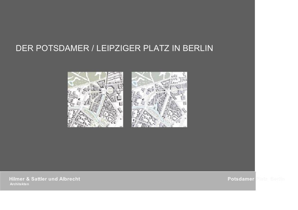 DER POSTDAMER / LEIPZIGER PLATZ IN BERLIN