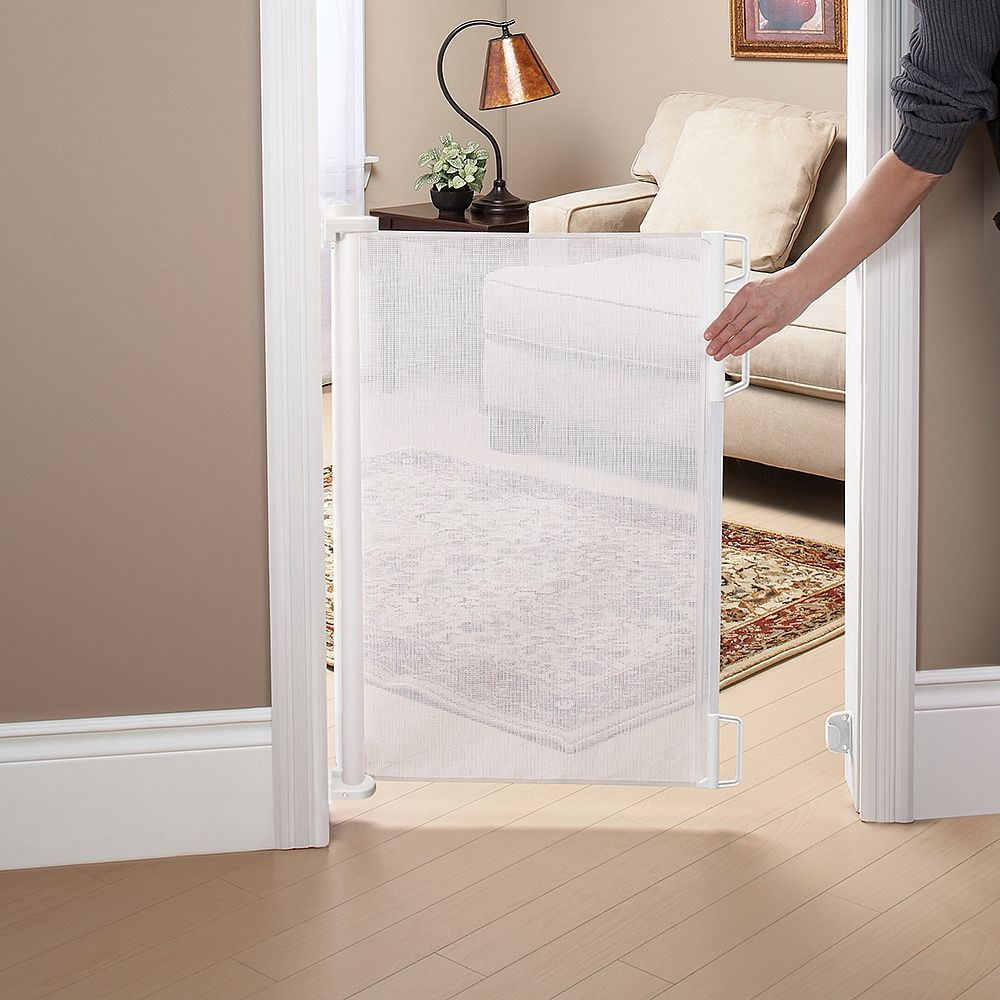 The Bily Retractable Safety Gate Is A Sturdy And Durable