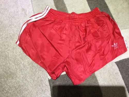 Adidas #nylon #sports shorts glanz sprinter #vintage football gym swim retro, View more on the LINK: http://www.zeppy.io/product/gb/2/252733413932/