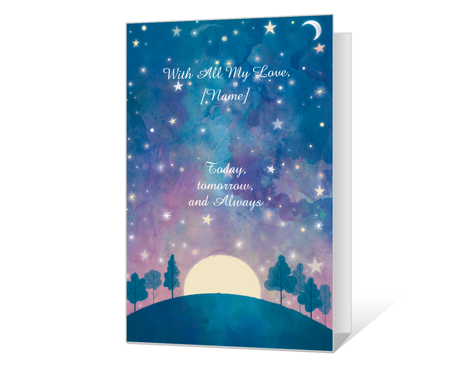 Birthday Blessing Printable Cards Blue Mountain Love Birthday Cards Birthday Cards To Print Birthday Card Template Free