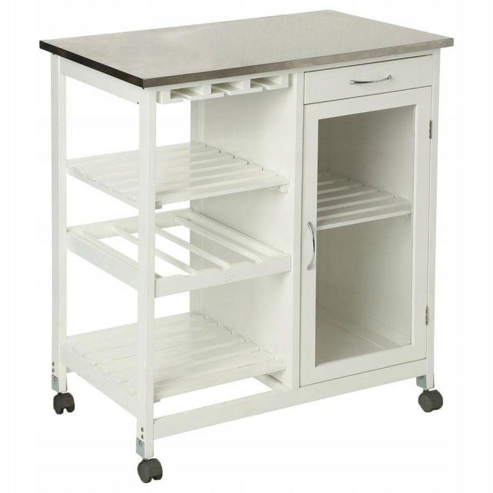 Wielofunkcyjny Wozek Kuchenny Na Kolkach Barek 8134105360 Oficjalne Archiwum Allegro Kitchen Trolley Kitchen Cart Kitchen