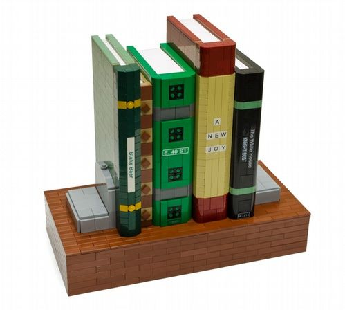 Bookshelf Safe A Lego Creation By Blake Baer Mocpages Lego