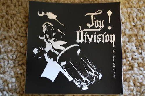 Joy division sticker s423