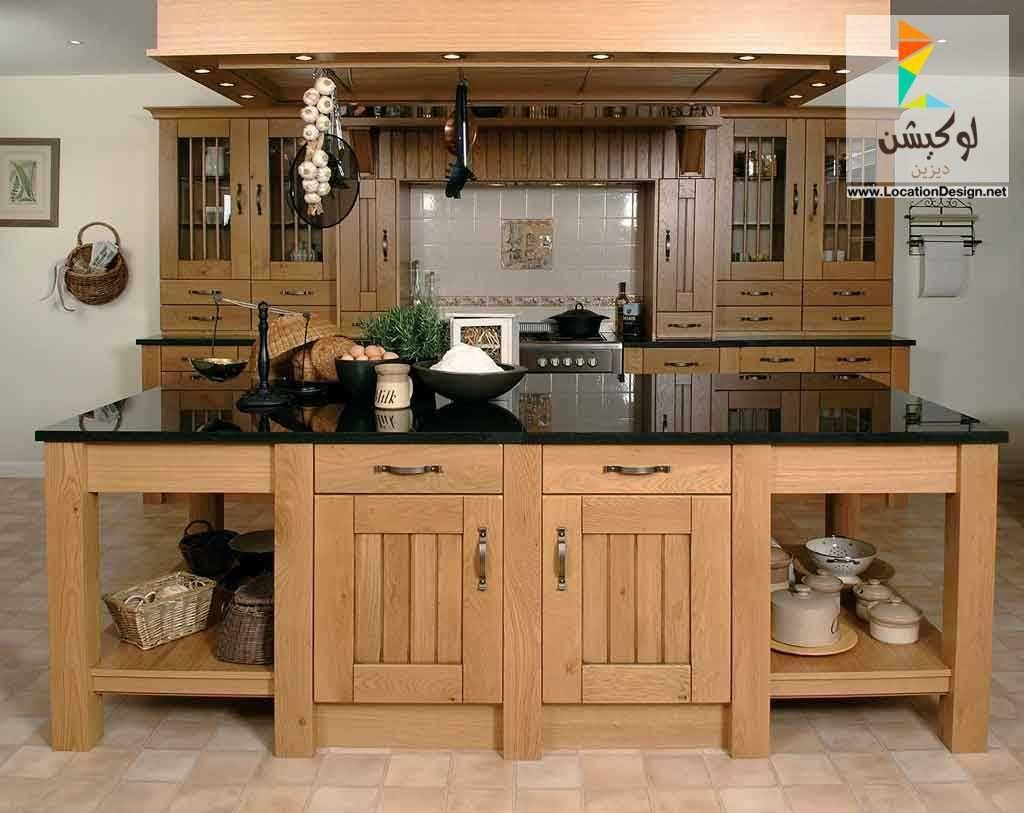 احدث كتالوج صور مطابخ خشب وام دى اف و اكليريك مودرن 2017 2018 Kitchen Design Trends Kitchen Design Traditional Kitchen Inspiration