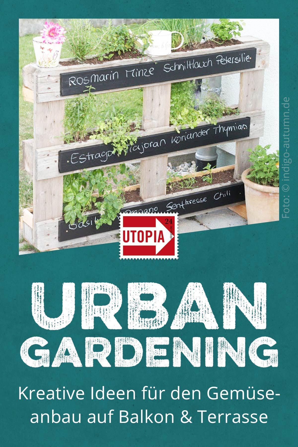 Diese Ideen machen Lust auf eigenes Gemüse auf deinem Balkon