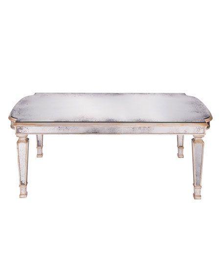 JOHNRICHARD Dara Mirrored Coffee Table FREE SHIPPING OR - John richard coffee table