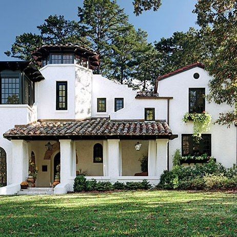 Spectacular Spanish Style Homes From Around The World Spanish Style Homes Spanish Style Home Mediterranean Homes