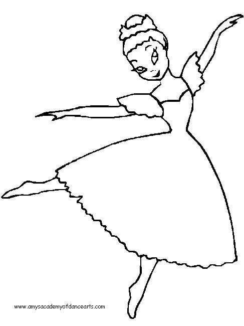 ballerina coloring pages
