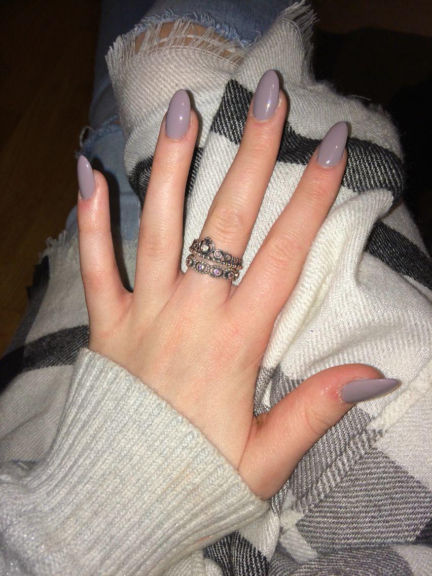 grey acrylic nails   Nails   Pinterest   Acrylics, Gray and Makeup